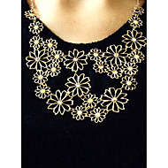 Damskie Oświadczenie Naszyjniki Flower Shape Stop Korygujący Festiwal/Święto biżuteria kostiumowa Biżuteria Na Impreza Codzienny