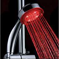 Water Powered cambianti di colore ABS Mano LED Doccia