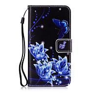 Για Πορτοφόλι / Θήκη καρτών / με βάση στήριξης tok Πλήρης κάλυψη tok Λουλούδι Σκληρή Συνθετικό δέρμα για SamsungGrand Prime / Core Prime