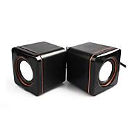 Bokhylle datamaskin høyttaler 2.0 CH Bærbar / Stereo / Mini / Super Bass