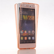 Pour Coque Huawei P8 Lite Ultrafine Coque Coque Intégrale Coque Couleur Pleine Flexible PUT pour Huawei Huawei P8 Lite