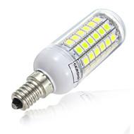 8W E14 LED a pannocchia T 69LED SMD 5730 800lm lm Bianco caldo / Luce fredda Decorativo V 1 pezzo