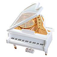 Music Box ABS White Music Toy