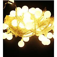 10m 100 led 220v vízálló IP65 kültéri többszínű LED-füzért fények Karácsonyi fények ünnep lakodalom dekoráció