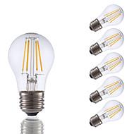 3.5W E26 LED Filament Bulbs A15 4 COB 350 lm Warm White Dimmable 120V 6 pcs