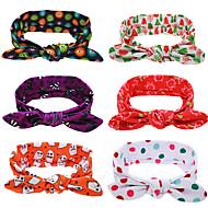 6 pcs/setChristmas Baby Headbands XMS Girls Hair Accessories Decoration