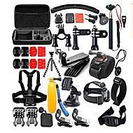Accessory Kit For Gopro All in One Convenient ForGopro 5 Gopro 4 Gopro 4 Silver Gopro 4 Session Gopro 4 Black Gopro 3 Gopro 2 Gopro 3+