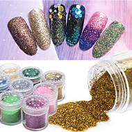 10g/box Nail Art Decoration Rhinestone Pearls Makeup Cosmetic Nail Art Design