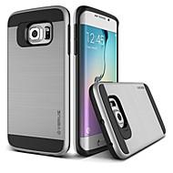 ל מגן סמסונג גלקסי עמיד בזעזועים מגן כיסוי אחורי מגן צבע אחיד PC Samsung S7 plus / S7 edge / S7 / S6 edge plus / S6 edge / S6 / S5 / S4