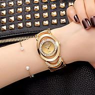 Damskie Do sukni/garnituru Szkieletowy Modny Zegarek na nadgarstek Zegarek na bransoletce Kwarcowy / sztuczna Diament Kryształ górski Stop