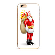 For Pattern Case Back Cover Case Christmas Santa Claus Soft TPU for for iPhone 7 7 Plus 6s 6 Plus SE 5s 5 4s 4 5C