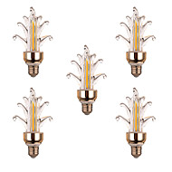 5Pcs YWXLight® Super Bright LED Lighting Energy-saving New LED Candle Bulb LED Pull E27 led Bulb Lamp 4W 300-400LM  AC 220-240V