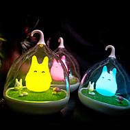 1pc le rechargeable Spiderwick usb lampe led lumière capteur de vibrations de la chambre de bébé de nuit gradateur lampe de chevet