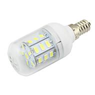 4W E14 LED 콘 조명 T 27 SMD 5730 280 lm 따뜻한 화이트 / 차가운 화이트 장식 DC 12 V 1개