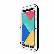LOVE MEI for Samsung Galaxy A9 A8 A7 Case Cover Water Dirt Shock Proof Full Body Solid Color Hard Metal