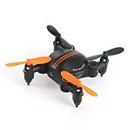 Drone 4 Canaux 6 Axes 2.4G Avec Caméra Quadri rotor RCEclairage LED Auto-Décollage Sécurité Intégrée Mode Sans Tête Vol Rotatif De 360