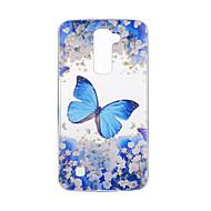 Til lg v20 v10 taske cover sommerfugl mønster bagcover soft tpu til k10 k8 k7 g5 g4 g3