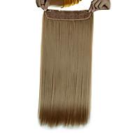5 Clips lange Gerade goldenen blonde (# 16) Kunsthaar Clip in Haarverlängerungen für Damen