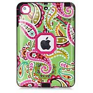 Mert Víz / Dirt / ütésálló Minta Case Teljes védelem Case Virág Kemény TPU mert Apple iPad Mini 3/2/1