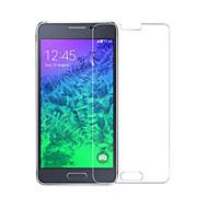 Screen Protector - Samsung Galaxy Alpha - Szkło odpodne na uszkodzenia/Pyłoodporna/Wodoodporne