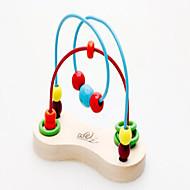 Minsker stress / Pædagogisk legetøj Originalt legetøj Legetøj Originale Kugle / Cylinder-formet Træ Regnbue Til drenge / Til piger