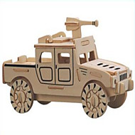Jigsaw Puzzles Wooden Puzzles Building Blocks DIY Toys Small Hummer jJeep (black) 1 Wood Ivory Model & Building Toy