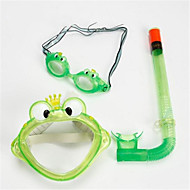 Búvármaszk Snorkel felszerelés Felszíni búvárkodás csomagok Úszás Búvárkodás és felszíni búvárkodás PVC Kék Zöld