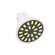 5W GU10 LED-spotlampen G50 24LED SMD 5733 350LM-400LM lm Warm wit / Koel wit Decoratief AC110 / AC220 V 1 stuks