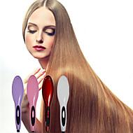 Straighteners / מברשת חמה לשיער / מברשת ומסרק רטוב ויבש מחזק ברק / החלקה ויישור בקרת טמפרטורה שנהב / תפוז / כסוף / אדוםטיפול כימי / יבש /