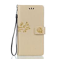 Sony xperia z5 premium z5 kompakti pu nahkainen materiaali kaksinkertainen kohokuvioitu yksivärinen puhelinkotelo z5 x xa xp