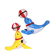 Uppvridbar leksak Originella leksaker Leksaker Originella Plastic Brun / Vit För pojkar / För flickor