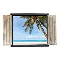 建築 フローラル柄 風景画 ウォールステッカー プレーン・ウォールステッカー 飾りウォールステッカー,ペーパー 材料 洗濯可 取り外し可 再利用可 ホームデコレーション ウォールステッカー・壁用シール