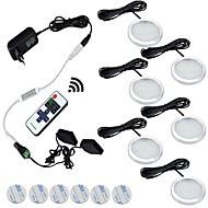 6本3ワット調光可能な暖かい白/クールホワイトキャビネットライトの下で導いた85-265v