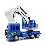 Baustellenfahrzeuge Aufziehbare Fahrzeuge Auto Spielzeug 1:25 Metall Plastik Blau Model & Building Toy