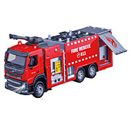 Fire Engine Vehicle Toys Car Toys 1:50 Metal Red Model & Building Toy