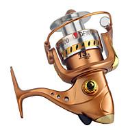 Carrete de la pesca Carretes para pesca spinning 2.6:1 13 Rodamientos de bolas Intercambiable Pesca en General-DF GOLD