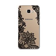Mert Ultra-vékeny Minta Case Hátlap Case Csipke dizájn Puha TPU mert Samsung A7(2016) A5(2016)