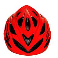 スポーツ 女性用 男性用 男女兼用 バイク ヘルメット 22 通気孔 サイクリング サイクリング マウンテンサイクリング ロードバイク レクリエーションサイクリング ハイキング 登山 PC EPS イエロー グリーン レッド ブルー オレンジ
