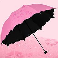 우산 모자 써니와 비오는 스테인레스 스틸 직물 여행 레이디 남성