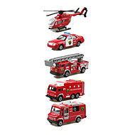 Planes & Helicopter Fire Engine Vehicle Vehicle Playsets 1:64 Metal Plastic Red