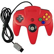 Wired Controller  for Nintendo N64 Console (Multicolor)