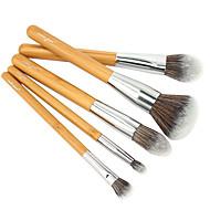 5 Brush Lavastus Poskipunasivellin Luomivärisivellin Peitevoidesivellin Puuterisivellin Alusvoidesivellin Contour Brush Synteettinen tukka