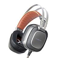 PCゲーマーのためのマイクマイク/呼吸光最高のヘッドバンドのゲームのヘッドフォンでxiberia K10ステレオゲーミングヘッドセットカスク