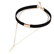 Necklace Europe Collar Fashion Short Black Necklace Choker Necklace