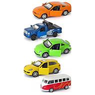 Camion Voiture de Course Playsets de véhicules Jouets de voiture 1:64 Métal Plastique Arc-en-ciel Maquette & Jeu de Construction