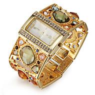 Damskie Modny Zegarek na bransoletce Kwarc japoński sztuczna Diament Kwarcowy Stop Pasmo Błyszczące Elegancki Ekskluzywne Złoty