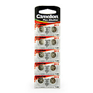 Camelion AG13 Coin Button Cell Alkaline Battery 1.5V 10 Pack
