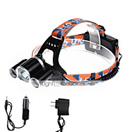U'King® ZQ-X820B-EU CREE XM-L T6/2*R5 Headlamp 5000LM LED 4 Mode for Camping Hiking Bike Outdoor Red light