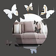 애니멀 미로스 패션 벽 스티커 3D 월 스티커 거울 벽스티커 데코레이티브 월 스티커,비닐 자료 홈 장식 벽 데칼