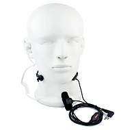 2 pin PTT kurkun mikrofonin HF radiopuhelinsetti piilevät akustinen putki Motorola GP88 GP300 gp2000 HYT tc-500S